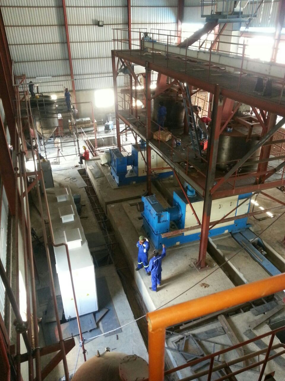 Red Sea International Process Flow Diagram Refinery Plant Continuous Neutralizing